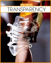 another Spring 2012 accessories trend.. Transparency