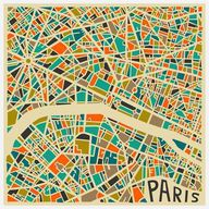 Paris Canvas Wrap, $...