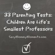 Savy Mommy Moments: