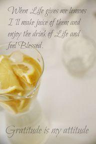 Lemonjuice of life