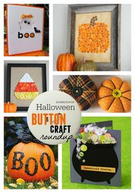 Halloween button cra
