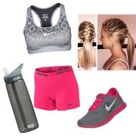 Nike workout Polyvor