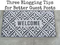 Three Blogging Tips