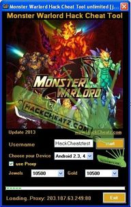 Monster Warlord Hack...