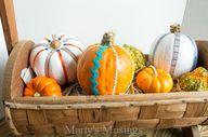 Painted Pumpkin Craf