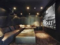 Home theater with pr