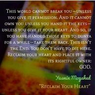 Reclaim your heart ♡