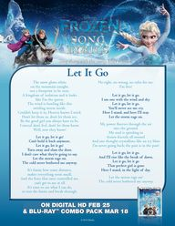 "Sing ""Let It Go"" wit"