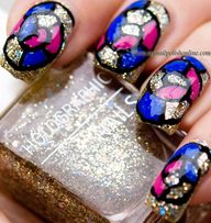 Nail Art – Stained G