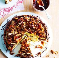 Banana Toffee Tart -