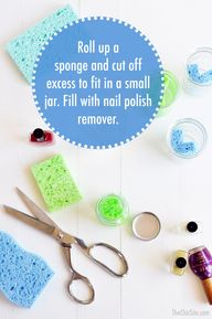 DIY Nail Polish Remo
