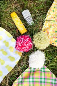DIY picnic throws wi