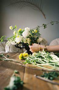 flower arranging - T