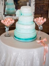 Aqua cake #Pastel #T