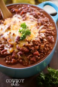 Cowboy Chili from ch