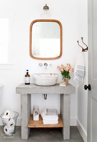 Airy bathroom with c
