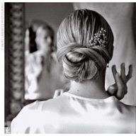 bun #wedding hair