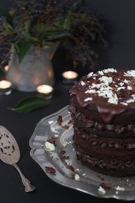 chocolate cake from