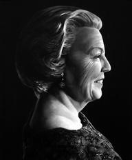 Portret Koningin Bea
