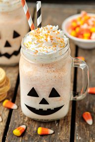Candy Corn Oreo Milk