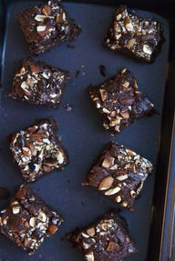 almond butter browni