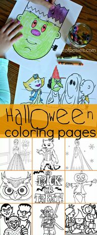 Halloween Coloring P