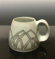 Mug with Hand-Drawn