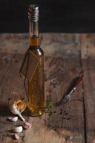 Azeite de Tomilho, Alho e Pimenta | Garlic, Pepper and Thyme Olive Oil