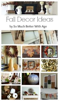 Fall Decor Ideas www