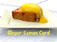 Meyer Lemon Curd, A