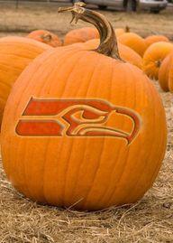 Seahawks Pumpkin