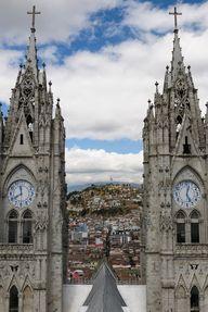 View to Quito, Ecuad