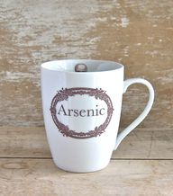 Arsenic mug. i.e. Ha