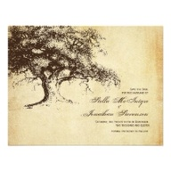 Vintage Oak Tree Sav
