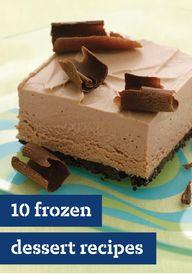10 Frozen Dessert Re