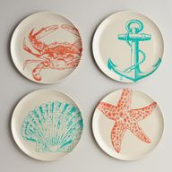 Seascape Plates, Set