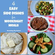 4 Easy Side Dishes f