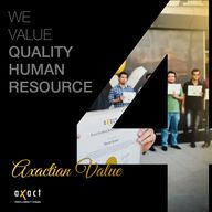 Axactian Value # 4: