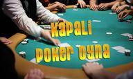 Kapalı Poker Oyna