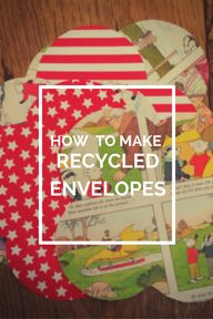 how to make recycled