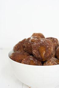 caramel stuffed cinn