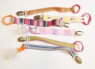 DIY Pacifier Clips -