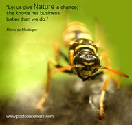 Let Us Give Nature a...