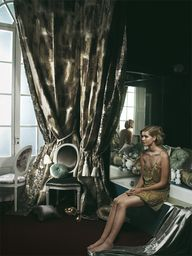 Luxe boudoir from th