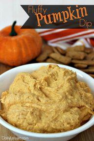 Fluffy Pumpkin Dip -