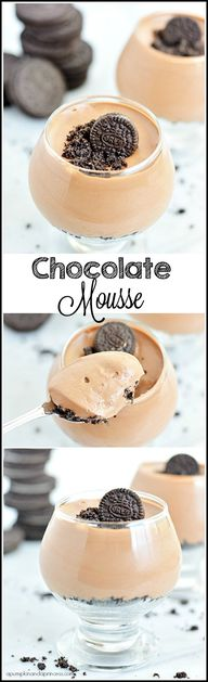 Oreo Chocolate Mouss
