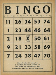 Vintage Bingo by tak...