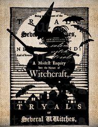 ANtiQue Salem Witch