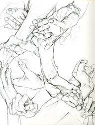 #Sarah_Simblet #Hand