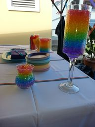 Rainbow decorations